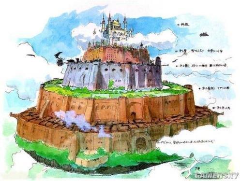 彩手绘建筑设计图