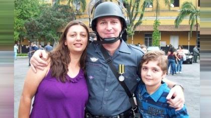 帕什吉尼(Marcelo Pesseghini)与父母合影(图片来自台媒)