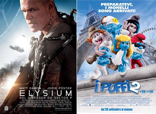 同属索尼公司的《极乐空间》和《蓝精灵2》在档期中形成左右互搏之势
