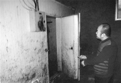 警方查获的吕江永私设的屠宰场。新京报记者 刘洋 摄
