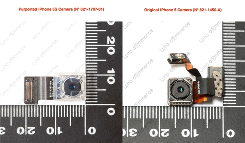 iPhone5S摄像头曝光