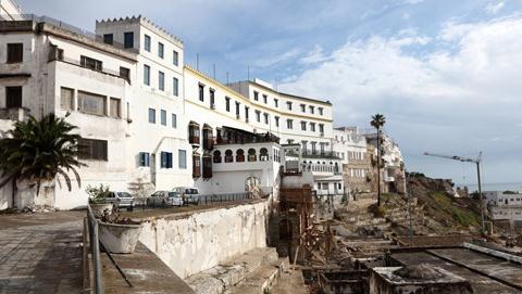 摩洛哥港市丹吉尔