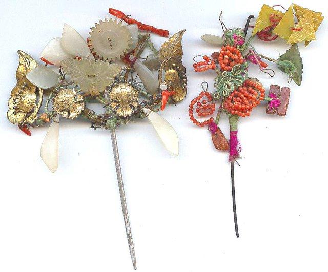 中国古代服饰之发饰