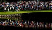 图文:美国PGA锦标赛决赛轮 福瑞克和杜夫纳