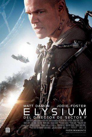 上周冠军《极乐空间》Elysium