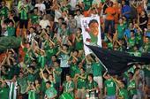 中超图:绿城1-0宏运 球迷庆祝进球
