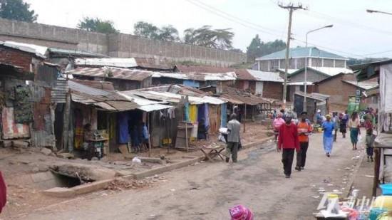 中国贫民窟风景_一个中国人眼中最真实的非洲贫民窟(组图)