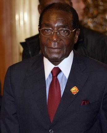 资料图:津巴布韦总统穆加贝