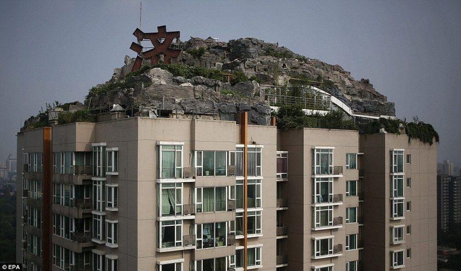 北京违建组图细节世界教程(照片)我的楼顶做别墅别墅图片