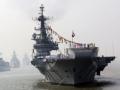 印度首艘国产航母下水
