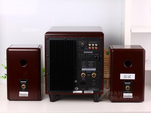 奢华木质打造 天逸高端2.1音箱1980元