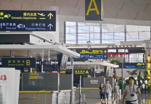 T3航站楼现代化内部 华商晨报 华商响网记者 王野 摄