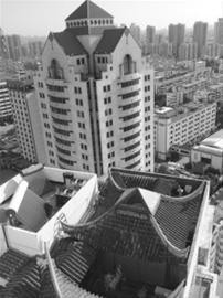 苏州别墅楼顶现拙政园别墅建筑-搜狐新闻高楼燕京楼图片