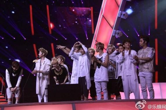 我的中国星EXO加盟 曾宝仪称不与其同台 图