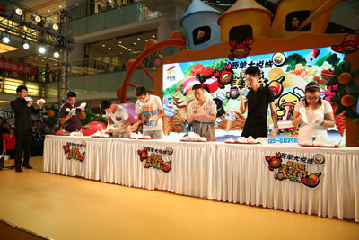 大胃王归来再战西单大悦城第五届食品美食节美食国际哪些群岛和莎西有图片