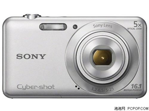 索尼W710 数码相机 银色(1610万像素 2.7英寸屏 5倍光学变焦 28mm广角)数码相机