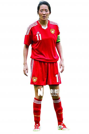 即将年满33岁的浦玮,是1999年女足世界杯时那届中国女足目前唯一的现役球员。CFP图片