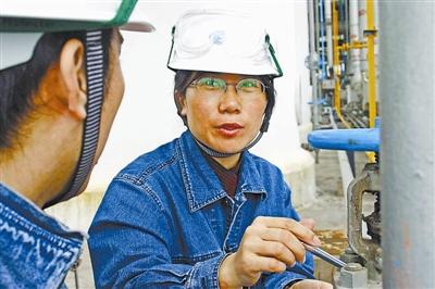 经她点拨的青工,个个进步神速   张恒珍现任中国石化茂名分公司图片