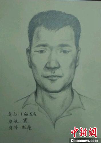 20日,安阳市公安局公布了犯罪嫌疑人模拟画像。安阳警方官方微博