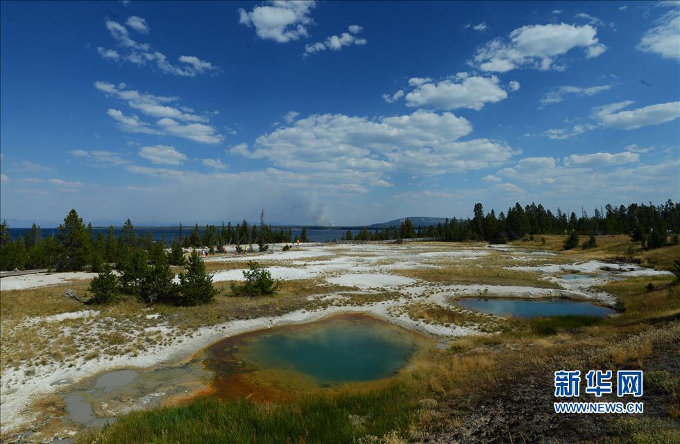 领略美国黄石国家公园的自然奇观(高清)