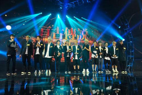 马松主持EXO《大歌会》专场 被赞韩流MC第一