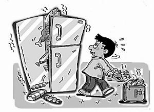 冰箱不是保险箱 冷藏食物不宜时间过长