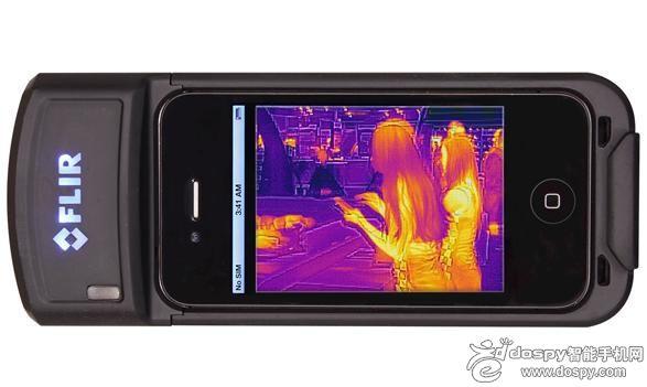 FLIR红外相机出炉 适配苹果iPhone手机