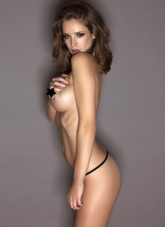 性感 写真 艾米莉/英女模艾米莉·肖户外全裸写真大尺度出镜(图)