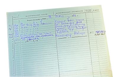 的登记卡是潇洒的手写体图片