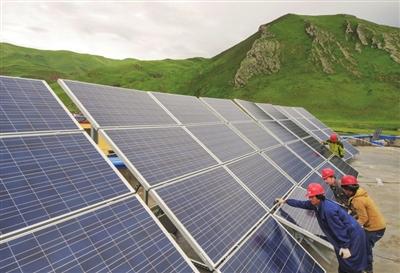 太阳能发电设备安装图 图片合集