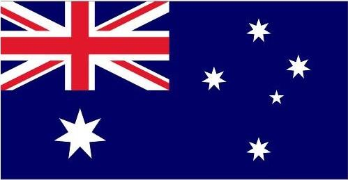 澳大利亚国旗为长方形