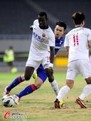 中超图:东亚0-1申花 伊比尼控球