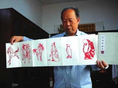 """""""泥活版画""""进一步诠释中国印刷术(图)"""
