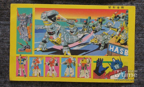 """中国 恐龙/""""机器恐龙""""是当时《变形金刚》中最受欢迎的机器人明星角色"""