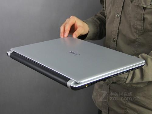Acer V5-431P银色 外观图