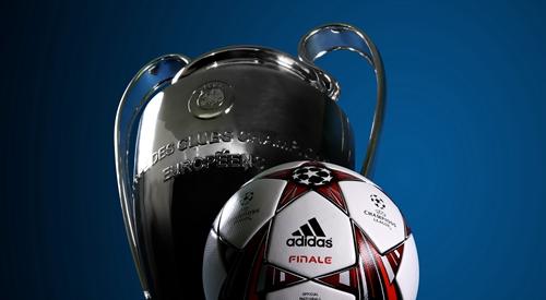 欧冠比赛用球图片