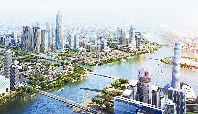这不仅意味着华业地产正式启动北京通州运河核心区的建设,同时标志着