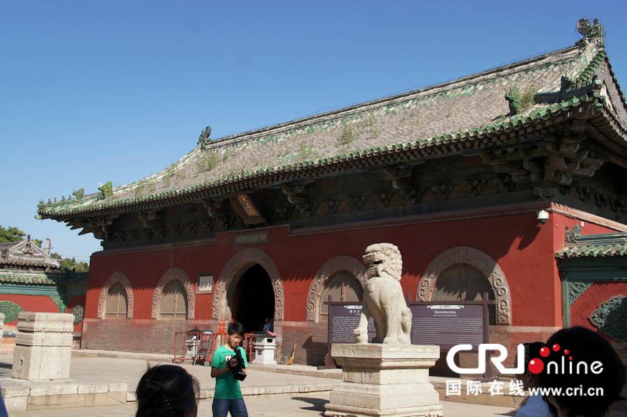 中国十大名寺之一 河北正定县隆兴寺