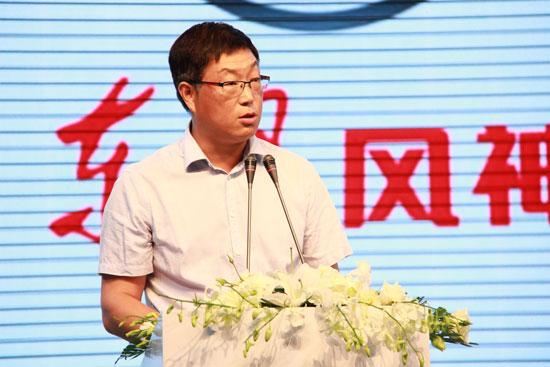 东风风神副部长杨新强先生发表讲话