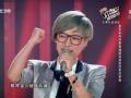 《中国好声音第二季片花》第八期 张欣奕获汪峰转身 顺利加盟汪峰组