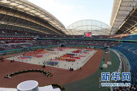 这是开幕式现场。 新华社记者宋振平摄