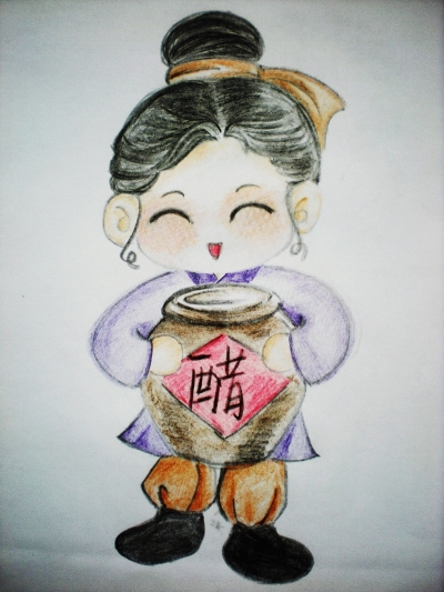 扬州是个弹琵琶的小姑娘(组图)