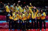 图文:[大奖赛]女排0-3巴西 巴西队玩high了