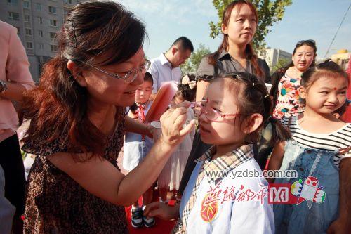 开笔首日小学为小学生v小学开学礼(图)丁桥的杭州老师图片