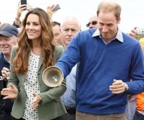 凯特王妃产后与王子亮相 身材迅速恢复