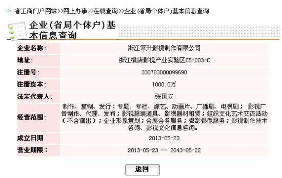 浙江节工商行政办局网站截图
