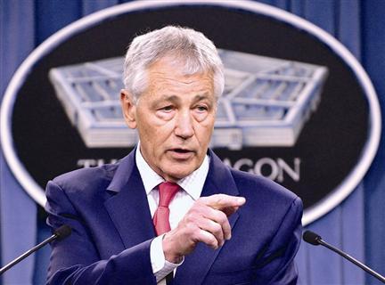 美国国防部长哈格尔,资料照片