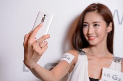 LG G2香港发布会现场图片