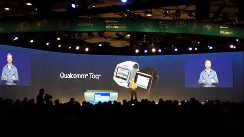 高通智能手表toq现场体验 高清图片