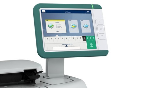 奥西PlotWave360黑白打印系统行业首创多点触控面板